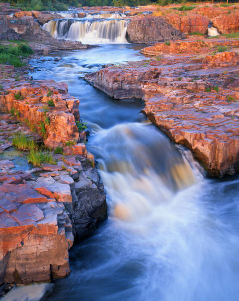 Sioux Wall Art - Photograph - Sioux Falls by Ray Mathis