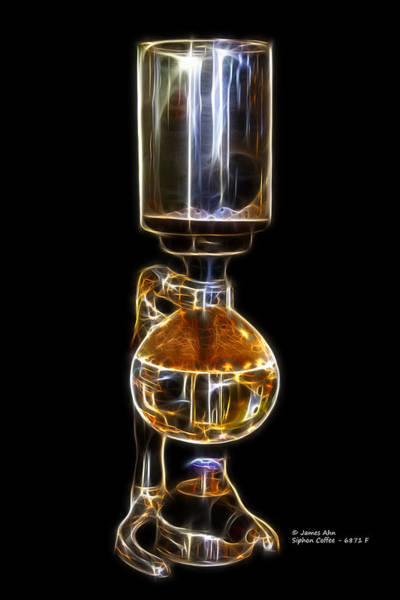 Digital Art - Siphon Coffee 6781 F by James Ahn
