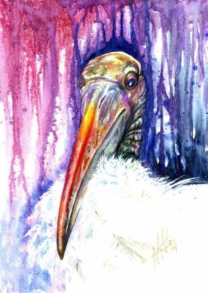 Painting - Sir Archibald Woodward Woodstork IIi by Ashley Kujan