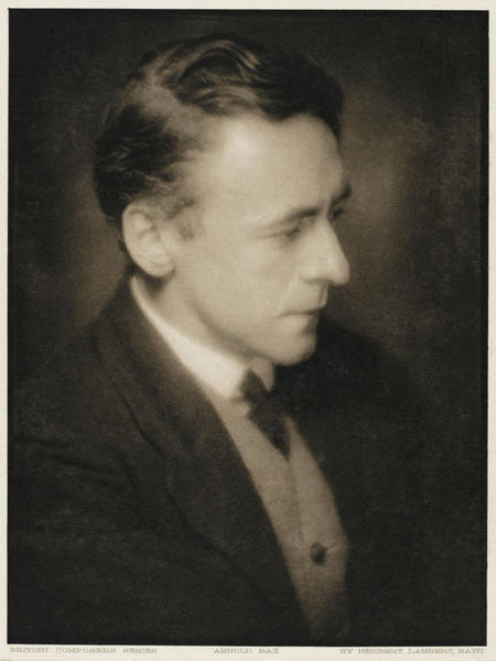 Bax Wall Art - Photograph - Sir Arnold Edward Trevor Bax  English by Mary Evans Picture Library