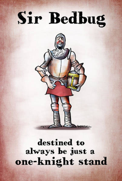 Sir Bedbug Art Print