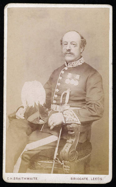 Wall Art - Photograph - Sir Charles Hotham  British Naval by Mary Evans Picture Library