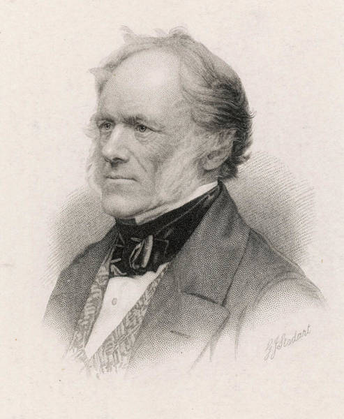 Wall Art - Drawing - Sir Charles Lyell (1797-1875) Geologist by Mary Evans Picture Library