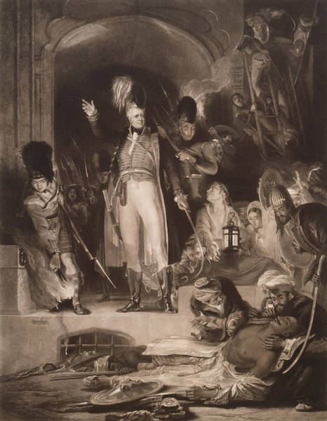 Wall Art - Photograph - Sir David Baird Discovering The Body Of Tipu Sultan, 1843 Mezzotint by Sir David Wilkie