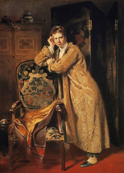 Dressing Photograph - Sir David Wilkie 1785-1841, 1816 Panel by Andrew Geddes
