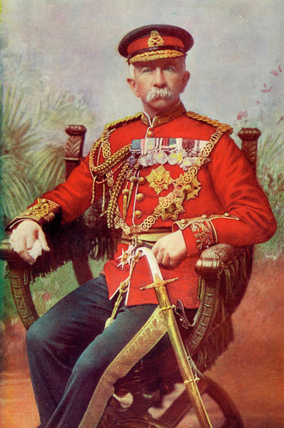 Gold Medal Drawing - Sir Evelyn Wood  British Soldier by Mary Evans Picture Library