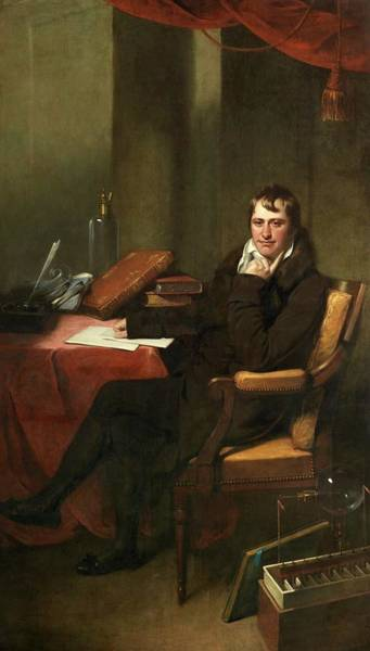 Electrolysis Wall Art - Photograph - Sir Humphrey Davy by Royal Institution Of Great Britain / Science Photo Library