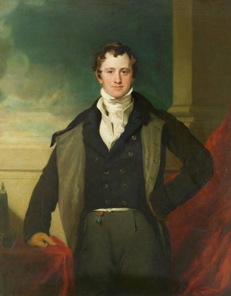 Electrolysis Wall Art - Photograph - Sir Humphry Davy by Royal Institution Of Great Britain / Science Photo Library