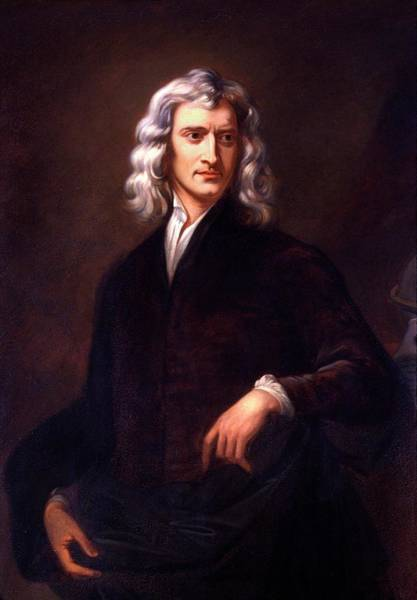 Gravitation Photograph - Sir Isaac Newton by Cci Archives/science Photo Library