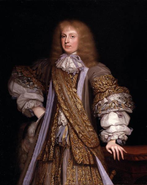 John Michael Wright Wall Art - Painting - Sir John Corbet Of Adderley, John Michael Wright by Litz Collection