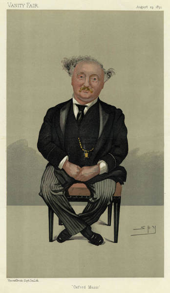 Wall Art - Drawing - Sir John Stainer  Musician        Date by Mary Evans Picture Library