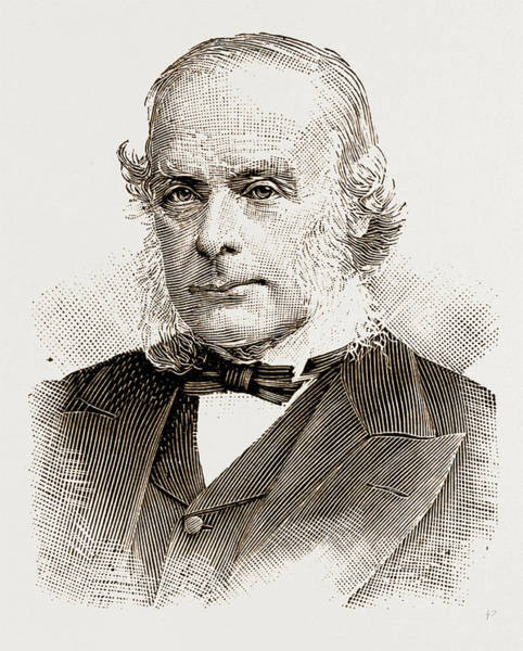Wall Art - Drawing - Sir Joseph Lister by Litz Collection