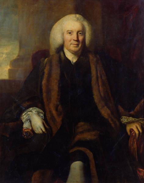 Husband Photograph - Sir Thomas Harrison 1701-65 Chamberlain Of The City Of London, C.1758 Oil On Canvas by Sir Joshua Reynolds