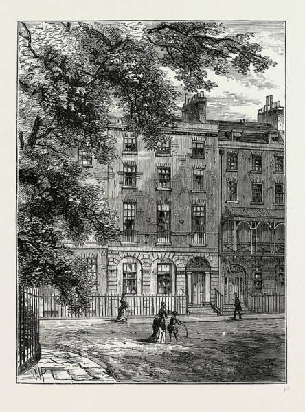 Wall Art - Drawing - Sir Thomas Lawrences House by Litz Collection