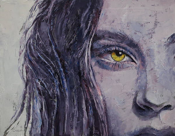 Femme Painting - Siren by Michael Creese