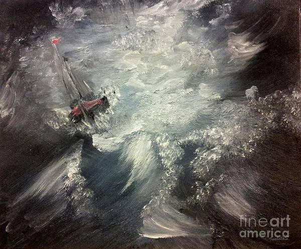 Painting - Sirens Call by Abbie Shores
