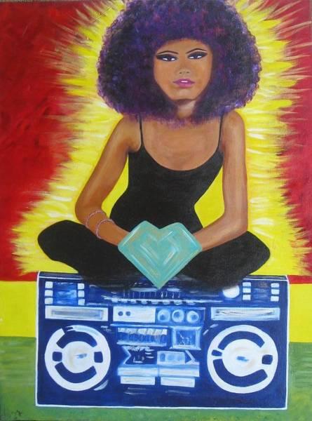 Dope Painting - Sistah Queen by Elza Queen