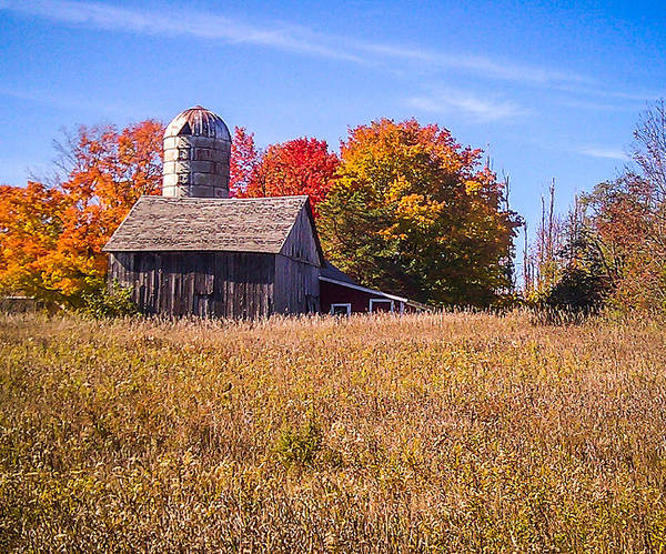 Photograph - Sister Bay Barn by Terry Ann Morris
