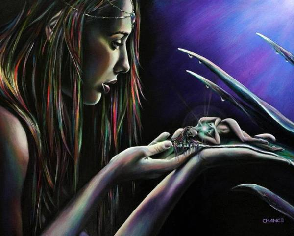 Painting - Sister Nature by Robyn Chance