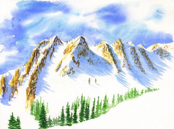 Painting - Sisters 2 by Walt Brodis