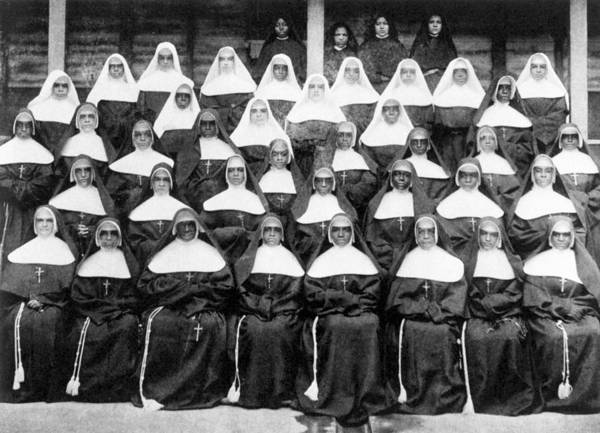 Photograph - Sisters Of The Holy Family by Granger