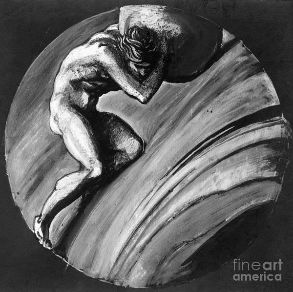 Photograph - Sisyphus by Granger
