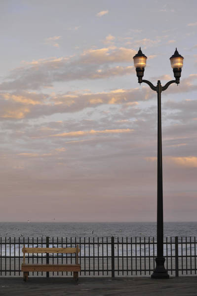 Photograph - Sit Enjoy The Day Seaside Heights New Jersey by Terry DeLuco