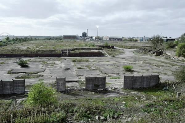 Contamination Photograph - Site Of Former Chemical Factory by Robert Brook/science Photo Library