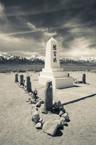 Inyo Mountains Photograph - Site Of World War Two-era Internment by Panoramic Images