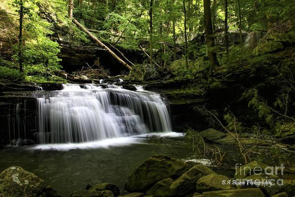 Photograph - Sittens Gulch Falls by Barbara Bowen