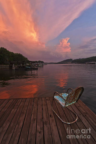 Missouri Ozarks Photograph - Sittin' On The Dock 2 by Dennis Hedberg