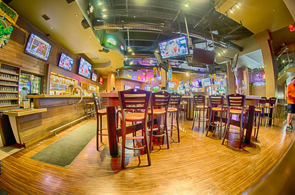 Photograph - Sitting Area Inside Of A Tavern Bar Restaurant by Alex Grichenko
