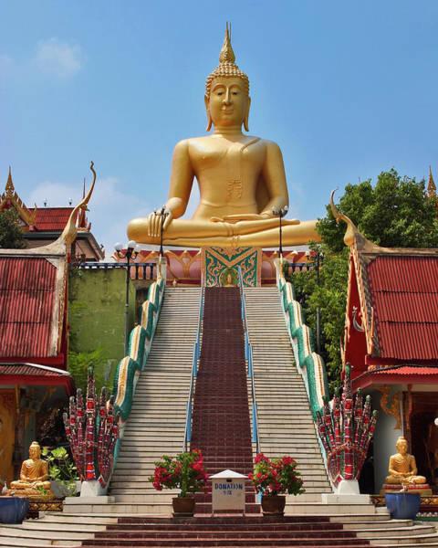 Koh Samui Photograph - Sitting Buddha by Adam Romanowicz
