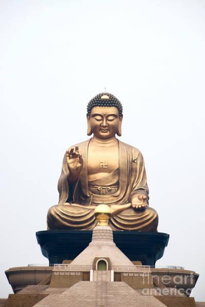 Photograph - Sitting Buddha Statue by Yew Kwang