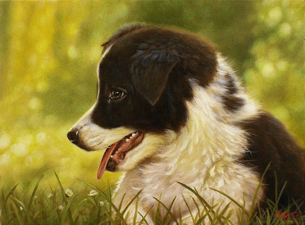 Painting - Sitting Pretty by John Silver