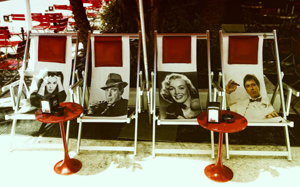 Photograph - Sitting With Movie Stars by Gary Dean Mercer Clark