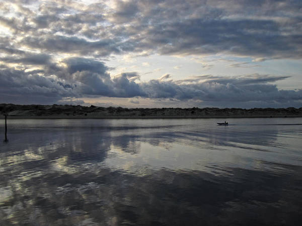 Photograph - Siuslaw River Reflected Skies by Lara Ellis