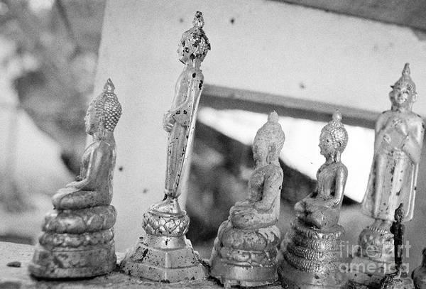 Wall Art - Photograph - Six Buddhas by Dean Harte