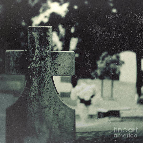 Holy Ghost Photograph - Six-feet Above by Trish Mistric