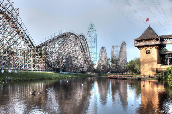 El Toro Photograph - Six Flags New Jersey by Debra Forand