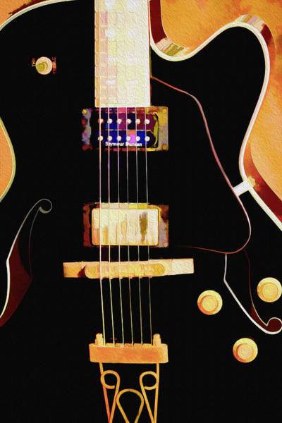 Photograph - Six Strings by Barry Jones