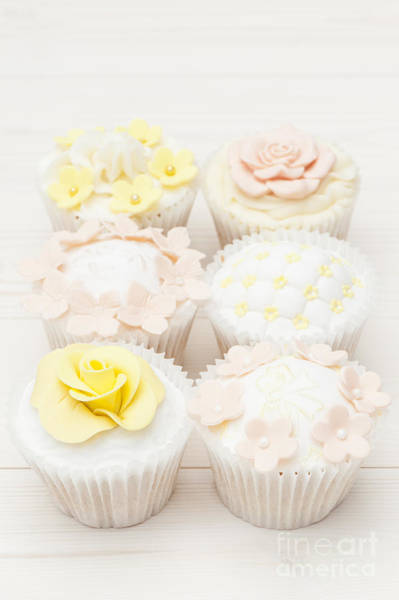 Cupcakes Photograph - Six Ways To Temptation by Anne Gilbert