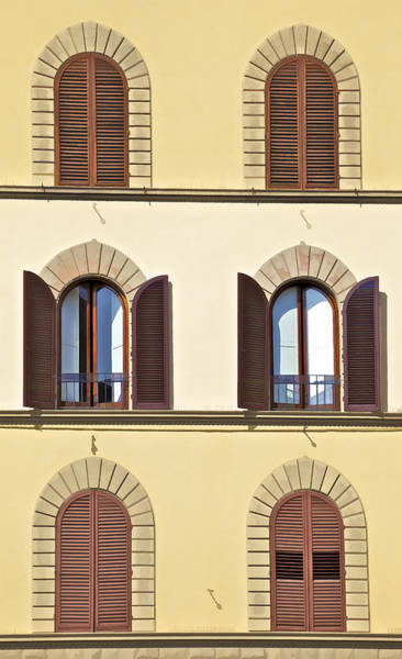 Photograph - Six Windows Of Florence by David Letts