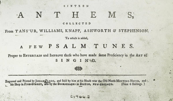 Wall Art - Painting - Sixteen Anthems, 1766 by Granger