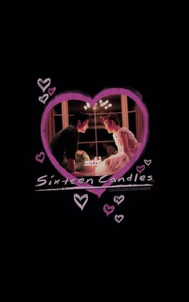 Candles Digital Art - Sixteen Candles - Candles by Brand A