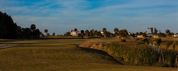 Photograph - Sixth Hole At Cocoa Beach Country Club by Ed Gleichman