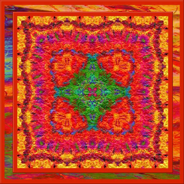 Digital Art - Sizzler Kaleidoscope by Charmaine Zoe