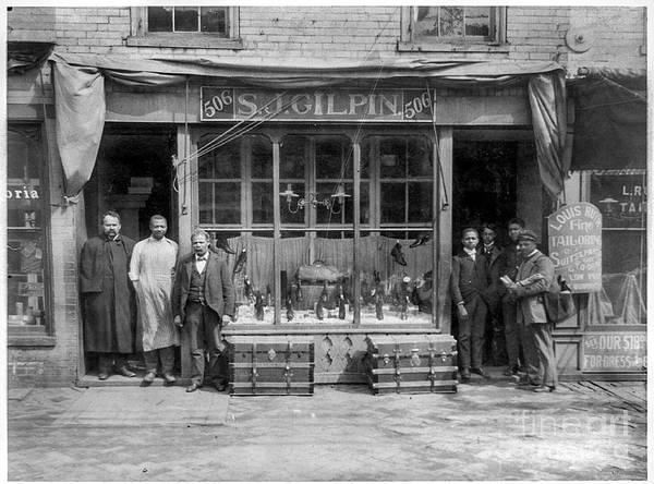 Photograph - Sj Gilpin Shoe Store Richmond Virginia by Russell Brown