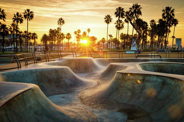 Skateboard Photograph - Skateboarding Paradise by Extreme-photographer