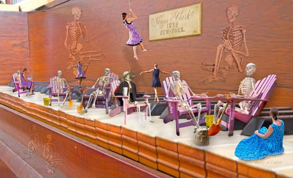 Adirondack Chair Wall Art - Digital Art - Skeleton Keys by Betsy Knapp